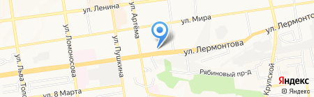 Ставропольская объединенная техническая школа на карте Ставрополя
