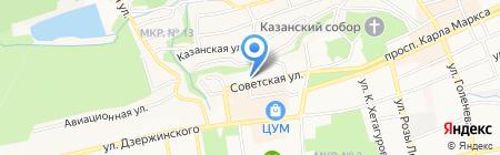 Отделение пенсионного фонда РФ по Ставропольскому краю на карте Ставрополя