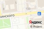 Схема проезда до компании Интекс-Юг в Ставрополе