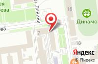 Схема проезда до компании Медиа-Сервис в Ставрополе