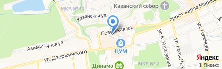 The Royce на карте Ставрополя