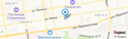 Экспресс на карте Ставрополя