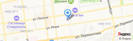 ИТиС на карте Ставрополя