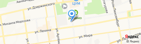 Факультет на карте Ставрополя