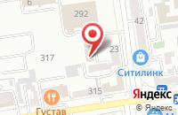 Схема проезда до компании Ника в Ставрополе