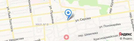 Гиро-Михалис на карте Ставрополя