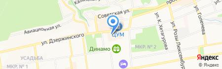 Проект А на карте Ставрополя