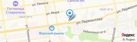 Комиссионный салон на карте Ставрополя