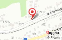 Схема проезда до компании ЭКСТРАТРЕЙД в Иваново