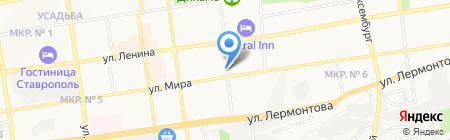 УФМС на карте Ставрополя