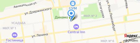 Гарант на карте Ставрополя