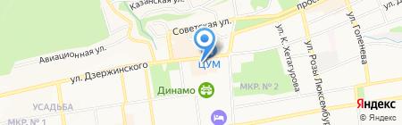 ОТП Банк на карте Ставрополя