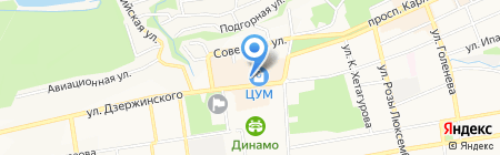 ГУRУ на карте Ставрополя