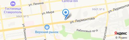 Ставропольские семена на карте Ставрополя