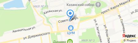 Сан-Сан на карте Ставрополя