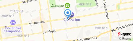 Ставропольэнергосбыт на карте Ставрополя