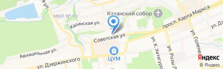 Управляющая компания №5 на карте Ставрополя