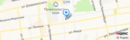 Россельхозбанк на карте Ставрополя