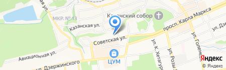 Управление по строительству и эксплуатации сооружений природоохранного назначения на карте Ставрополя