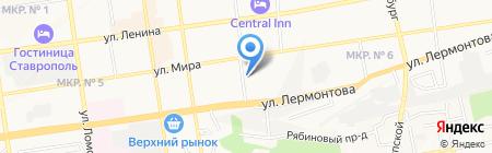 ОБРАЗ на карте Ставрополя
