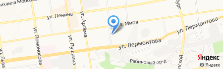 Дизайн-студия Б на карте Ставрополя