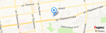 Городская детская поликлиника №2 на карте Ставрополя