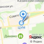 NYX на карте Ставрополя