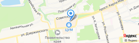 МетЛайф на карте Ставрополя