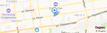 CONNECT на карте Ставрополя