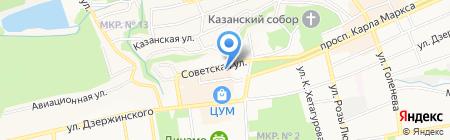 Адвокатский кабинет Бочуриной А.В. на карте Ставрополя
