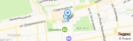 Эльдорадо на карте Ставрополя