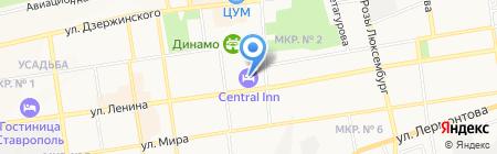 Comfort+ на карте Ставрополя