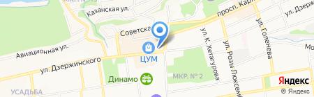 Краевой эндокринологический диспансер на карте Ставрополя