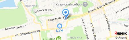 Прокуратура Ставропольского края на карте Ставрополя
