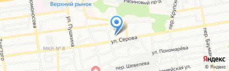 Русская самозащита на карте Ставрополя