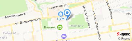 ЛЮМЬЕР на карте Ставрополя