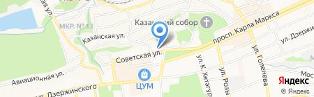 Гирос Илиас на карте Ставрополя