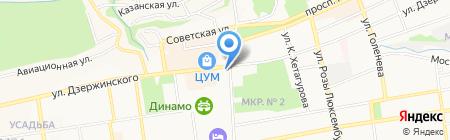 Управление ФСБ России по Ставропольскому краю на карте Ставрополя