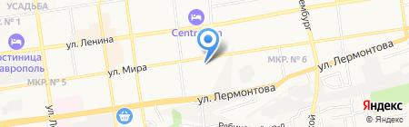 Добрый Доктор на карте Ставрополя