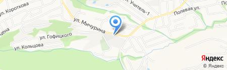 Связь на карте Ставрополя