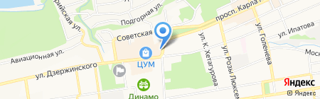 Аш Эви на карте Ставрополя