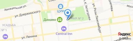 Единая Россия на карте Ставрополя