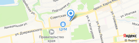 Респект на карте Ставрополя