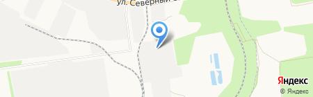 Завод по производству шлакоблоков на карте Ставрополя