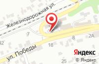 Схема проезда до компании Зодчий в Ставрополе