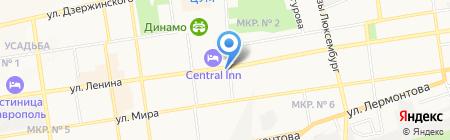 Victoria на карте Ставрополя