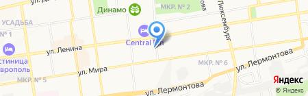 Союз ветеранов боевых действий в горячих точках на карте Ставрополя