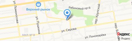 РЕАЛПРОЕКТ на карте Ставрополя