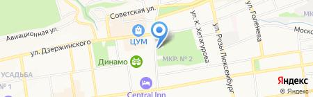 Hot Dog на карте Ставрополя