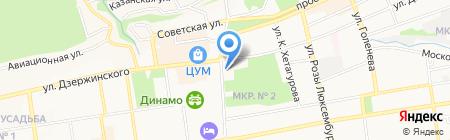 Ростелеком на карте Ставрополя